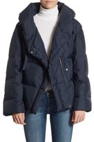 Theory Toralla Off-the-Shoulder Puffer Jacket