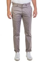 Prada Men's Gabardine Slim Fit Chino Pants Grey.