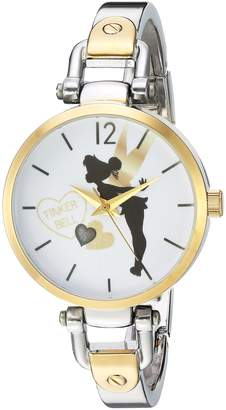 Disney Women's Tinker Bell Analog-Quartz Watch with Alloy Strap