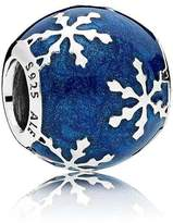 Pandora Sterling Silver Blue Wintry Delight Charm 796357EN63