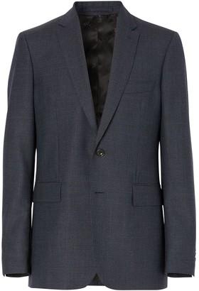 Burberry knitted slim-fit suit