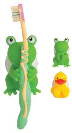 Mommys Helper Mommy's Helper Froggie and Friend Tooth Brush Holder