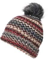 Rainbow Knitted Beanie Hat