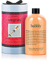 philosophy congrats gift packaged bubbly 3-in-1 shower gel