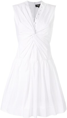 Paule Ka sleeveless flared dress