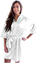 Cathy's Concepts CATHYS CONCEPTS Personalized Satin Satin Kimono Robes