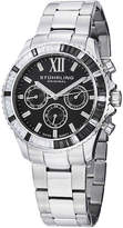 Stuhrling Original Sthrling Original Womens Crystal-Accent Black Dial Bracelet Watch