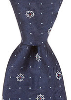 "Brooks Brothers Little/Big Boys 4-20 50"" Nautical Wheel Tie"
