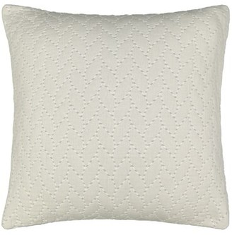 Waverly Cartona Matelasse 100% Cotton Envelope Sham Color: Gray