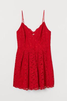 H&M H&M+ Short lace dress