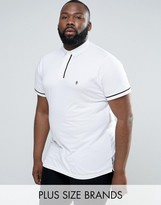 French Connection PLUS Pipping Polo Shirt
