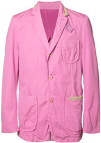 Sacai blazer jacket - men - Cupro/Cotton - 1