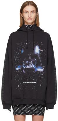 Vetements Black STAR WARS Edition Dark Side Hoodie