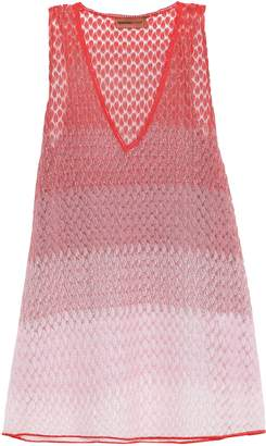 Missoni Mare Mare Degrade Crochet-knit Coverup