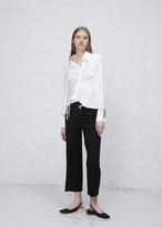 Jacquemus white la chemise rose