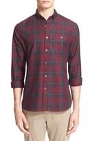 Todd Snyder Men's Extra Trim Fit Plaid Shirt