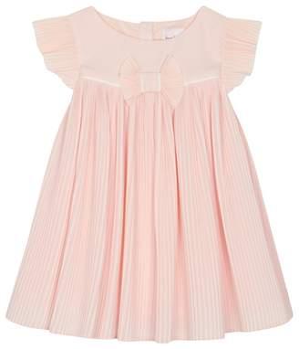 Baker by Ted Baker - 'Baby Girls' Pink Plisse Dress