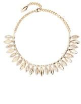 St. John Women's Swarovski Crystal Leaf Collar Necklace