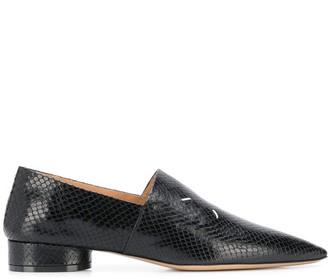 Maison Margiela 4-Stitches Low-Heel Loafers
