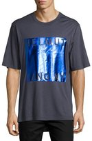 Helmut Lang Box-Fit Film-Print Logo T-Shirt
