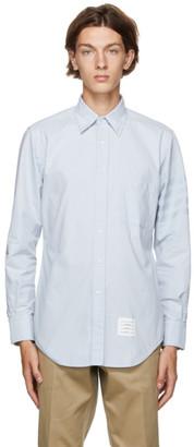 Thom Browne Blue Oxford 4-Bar Classic Shirt