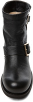 Jimmy Choo Youth Low Biker Boot in Black