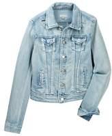 Tractr Basic Slim Denim Jacket (Big Girls)