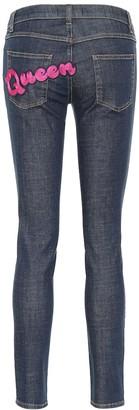 Dolce & Gabbana AppliquAd skinny jeans