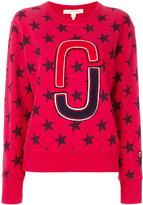 Marc Jacobs star print sweatshirt - women - Cotton - M