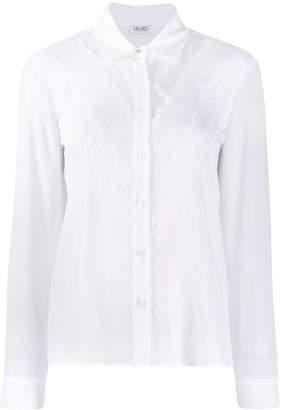 Liu Jo lace insert shirt