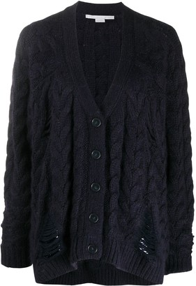 Stella McCartney Chunky Knit Cardigan