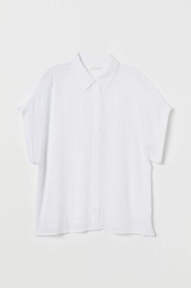 H&M Crinkled Blouse