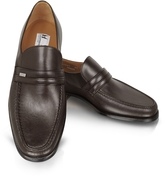 Moreschi Monaco Brown Leather Loafers