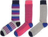 Ted Baker Organic Multi Stripe Socks