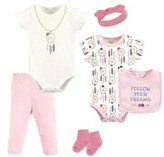 Little Treasures Layette Set 6pc (Baby Girls)