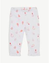 Billieblush Billie Blush Pineapple print cotton-blend leggings 3-36 months