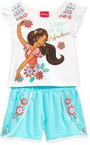 Disney Disney's® Princess Elena 2-Pc. Graphic-Print Tank Top & Shorts Set, Toddler & Little Girls (2T-6X)