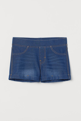 H&M Denim-look shorts