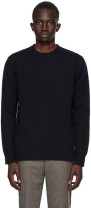 Harmony Navy Wulf Sweater