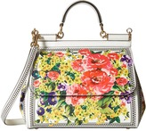 Dolce & Gabbana Floral Printed Sicily Bag Bags
