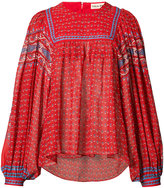 Ulla Johnson 'Minou' folk print blouse