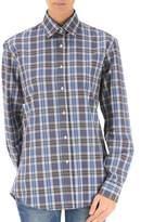 Stella Jean Women's Light Blue Cotton Shirt.