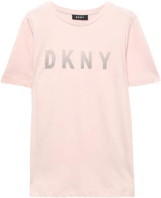 DKNY City Lights Embellished Cotton And Modal-blend T-shirt