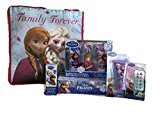 Disney Frozen Olaf, Elsa or Anna Bath and Beauty Set with Gift Tote Bag (Anna)