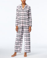 Alfani Printed Flannel Pajama Set, Only at Macy's