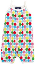 Toobydoo Happy Dots Romper (Baby Girls)