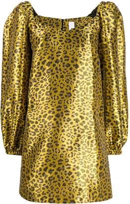 Ultràchic animal print shift dress