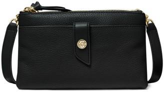 Michael Kors Medium Tab Leather Crossbody Bag