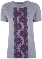 Dolce & Gabbana lace detail t-shirt