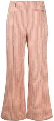 Acne Studios Striped Trousers
